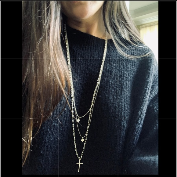 Topshop Jewelry - Topshop 3 in 1 chain necklace